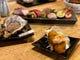 蒸し牡蠣、牡蠣フライなど牡蠣料理も