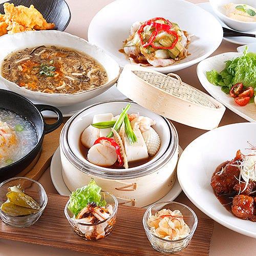 色鮮やかな中国料理。お客様に「感動」を提供致します。