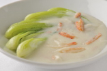 中国野菜と蟹肉のクリーム煮