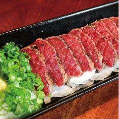 桜肉タタキ