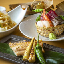 厳選の旬素材や鮮魚が楽しめるお料理のみのカジュアルプラン『お手軽おまかせ四品コース』全4品