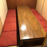 1室限定【個室のお座敷席】4名席が2卓のお席をご用意しております。