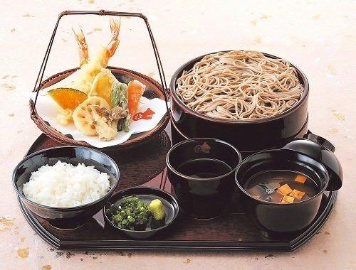 ☆そば定食 そば・天ぷらも楽しめる吹上庵人気のお料理☆
