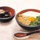 ☆冷やしとろろそば 山芋・あげ・大葉を贅沢に使用したお料理☆