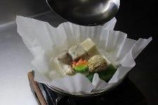 京都の食材を中心に組み立てた献立