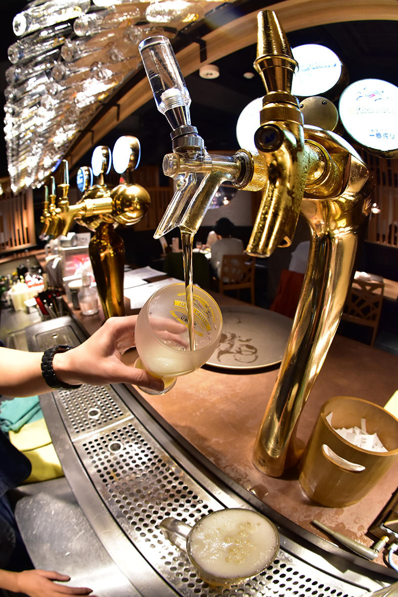 種類豊富な樽生ビール全8種