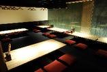 最大70名様着席可能の掘りごたつ宴会スペース「組座」