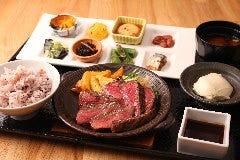 窯焼和牛ステーキと京のおばんざい 市場小路 寺町…