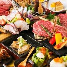 宮崎の食材を堪能できる宴会コース