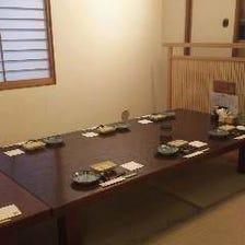 ◆ご宴会等に4~12名様用の半個室