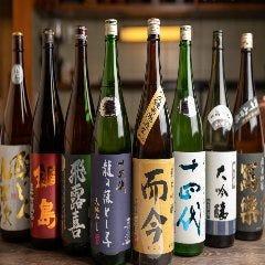 日本酒の魚枡 はなれイメージ