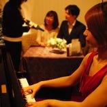 ピアノ生演奏によるサプライズサービス(無料)  ★静かにお祝いすることも可能です★