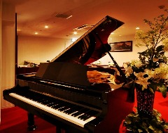 ピアノ発表会、演奏会などに。昼など時間帯問わず(15名様~30名様貸切宴会)