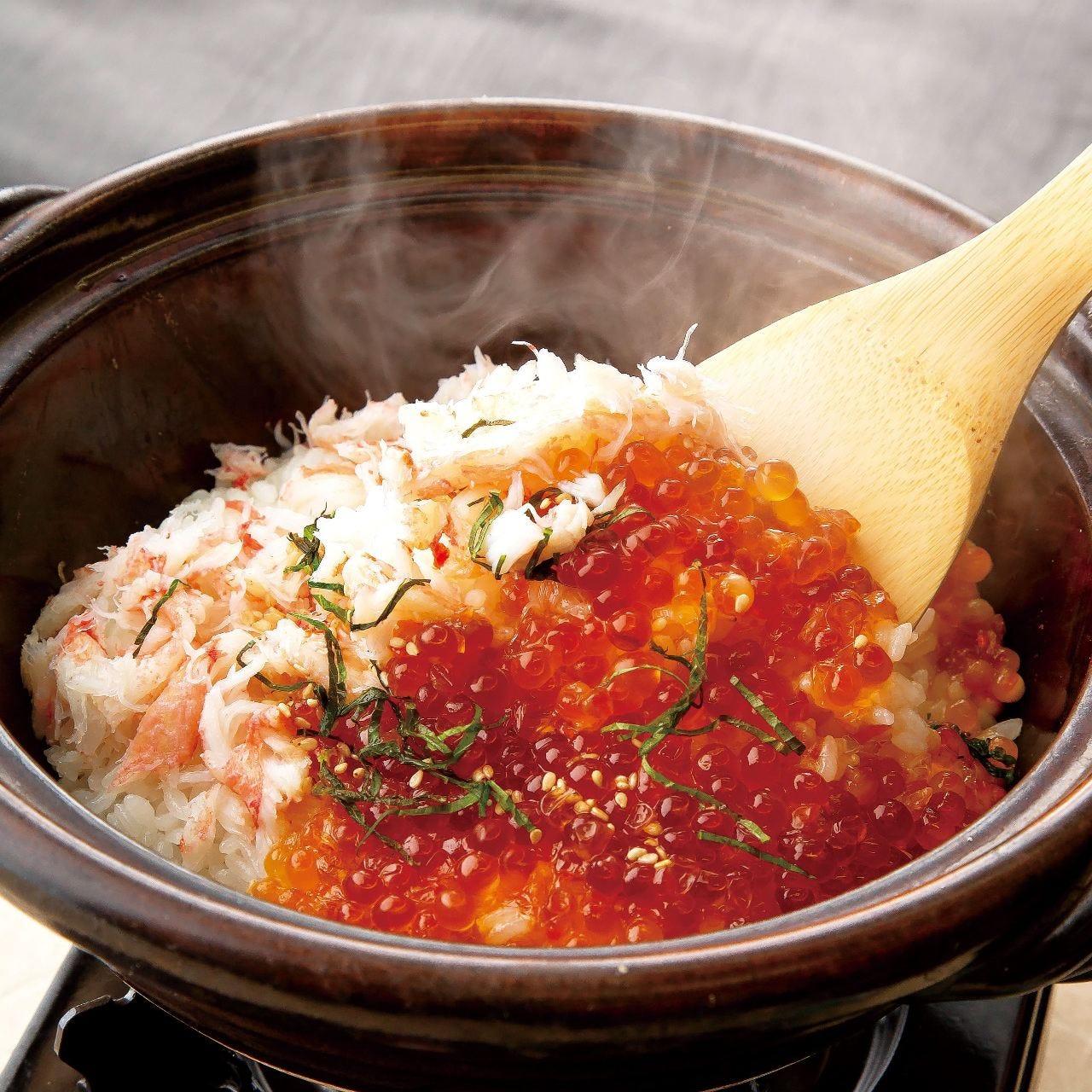 ふっくら艶やかなお米の土鍋ごはん