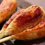 北海道産の伊達黄金鶏を使用した絶品生つくね【北海道】