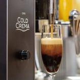 """""""コールドクレマアイスコーヒー"""" 導入しました!"""