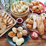 【土日祝開催】女性に人気のパンビュッフェでゆったり贅沢ランチ!