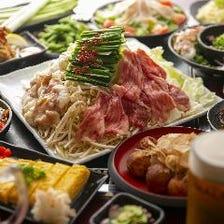 人気宴会コースは飲み放題付4000円!