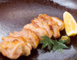 鹿児島県産薩摩軍鶏の炭火焼