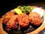 牡蠣フライ定食(ランチ)