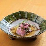 佐賀牛ロースト柚子香るスープ仕立て