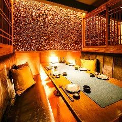 上質なプライベート個室空間はゆったりとお寛ぎ頂ける造りとなっております♪