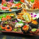 総料理長監修の豪華食材のみを用いた特別宴会プランをご用意!