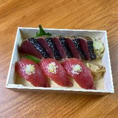 カツオたたきとにぎり寿司