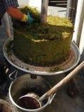 当店ビル屋上で製造バルサミコ酢。モデナ大学教授より高評価を頂きました。