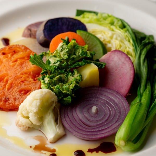地元横浜野菜でビストロ料理を!
