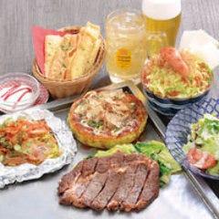 リブロースステーキコース