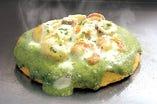 【新作!】海鮮バジルマヨのチーズ焼き