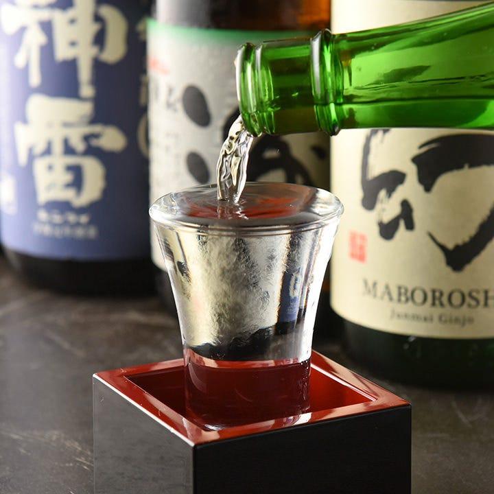 「神雷青ラベル」など入手困難な広島の地酒もございます!