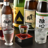一部のコースには広島の地酒も飲み放題に含まれます♪存分にご堪能ください!