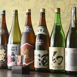 自慢の広島の地酒は全11種!厳選された地酒を当店でお楽しみください♪
