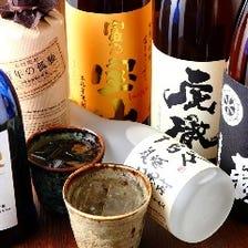 人気の焼酎・梅酒・国産ワイン
