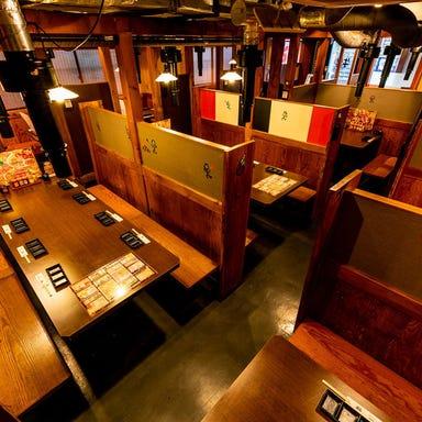 食べ放題 元氣七輪焼肉 牛繁 笹塚店 店内の画像