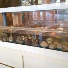 貝類の浜焼きは食欲をそそります!!