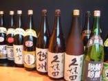 日本酒は〆張鶴・八海山・沢の井他