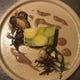 『牡蠣のソテーとポロ葱のテリーヌ』