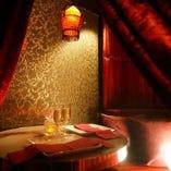 【カップルシート】 デート、記念日におすすめの個室