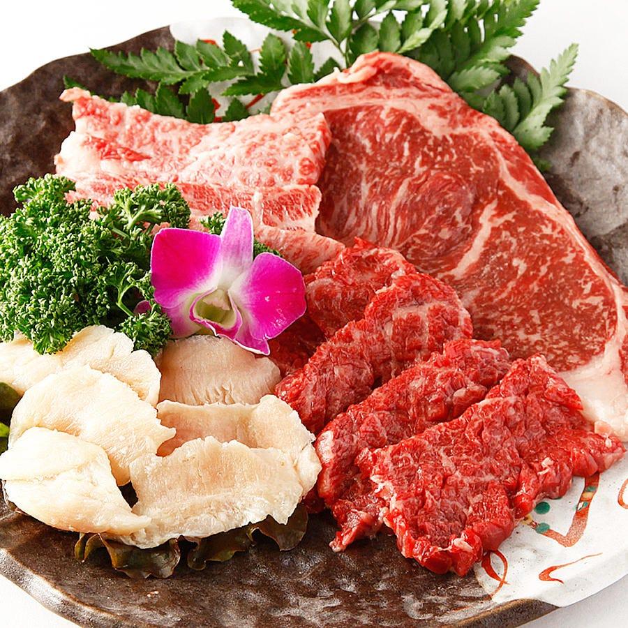 コスパ抜群♪贅沢肉の盛合わせ