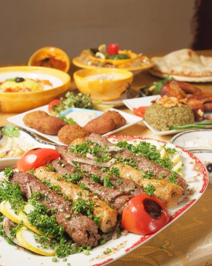 ヘルシーでやさしい味のアラビア料理です
