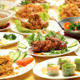本場マレーシア料理の数々