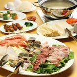 【2時間飲み放題付】マレーシア3大料理・スチームボートコース