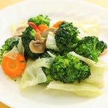 本日の季節野菜炒め
