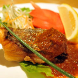 マラッカ風 鮮魚の唐揚げ ニョニャソース