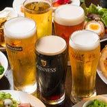 お酒好きに嬉しいバリエーション豊富なビール!