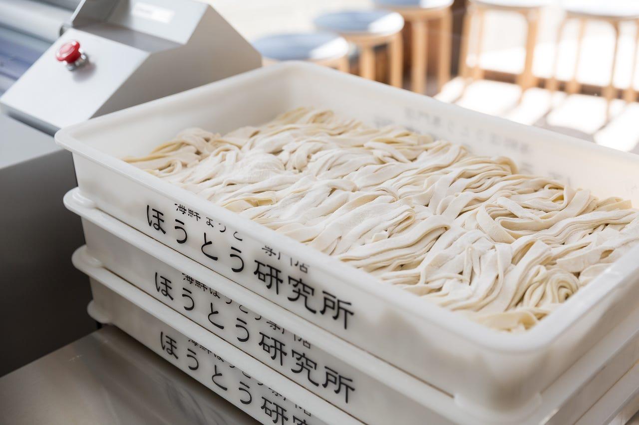 こだわりの自家製麺!