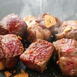 牛ロースのカットステーキ